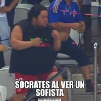 SOCRATES AL VER UN SOFISTA