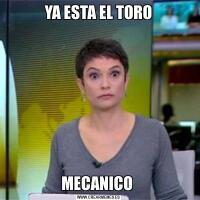 YA ESTA EL TOROMECANICO